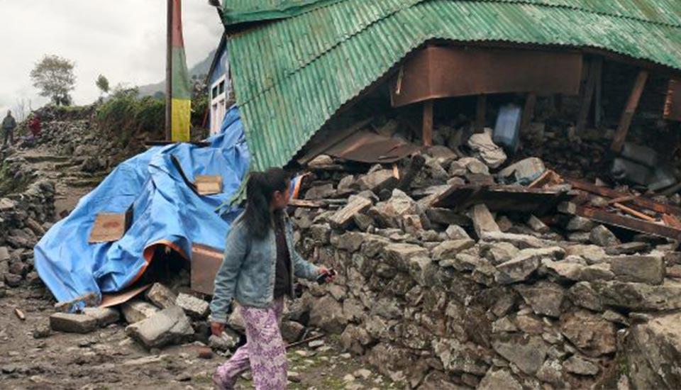 2015 nepal Impact