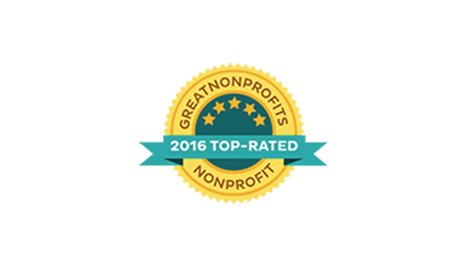 2016: Top-Rated Nonprofit by GreatNonprofits