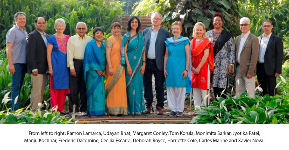 PRASAD TRUSTEES MEET IN INDIA
