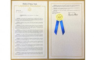 New York State Senate Commemorates The PRASAD Project!