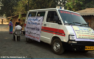 Celebrating the 25th Anniversary of The PRASAD Project! It all began with a mobile hospital.