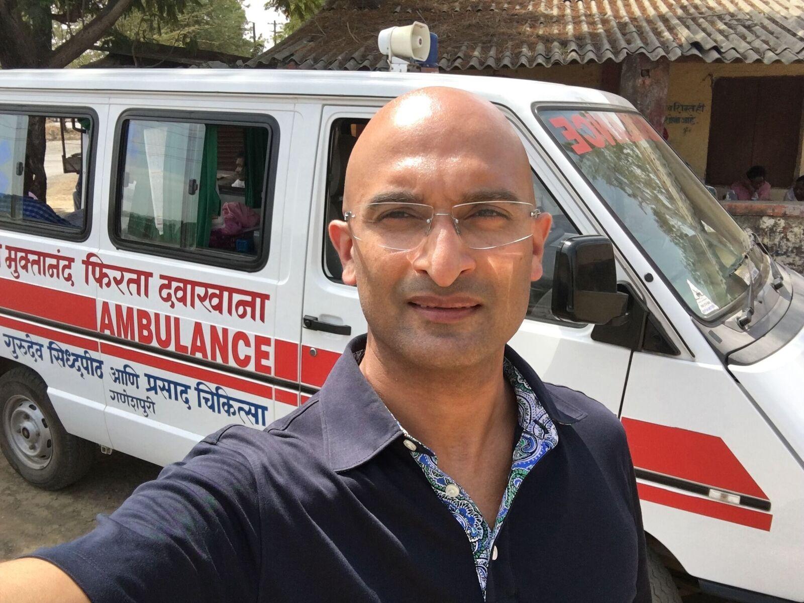 My visit to PRASAD Chikita – Dr. Vivek Panchapakesan