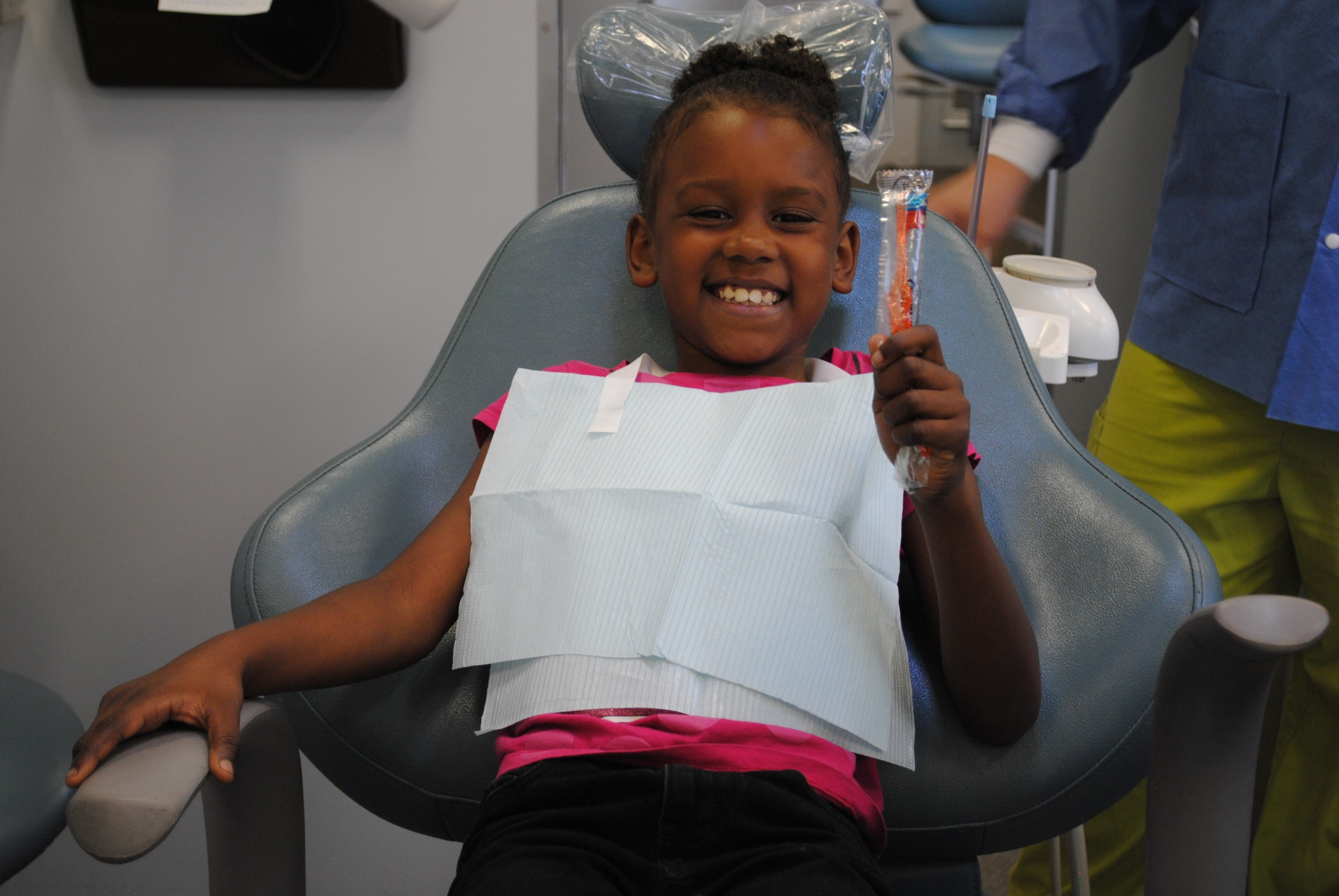 CDHP Clinic 2017 girl The power of a smile:  <br> Celebrating National Childrens Dental Health Month