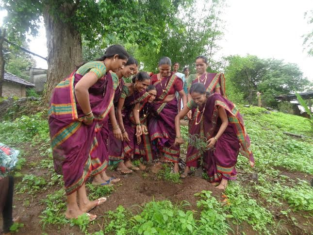 members shg planting trees A Successful Tree Planting Campaign, Thanks to You!