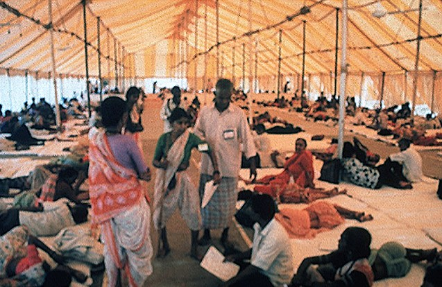 pc eye camp tent Celebrating 30 Years of Restoring Sight!