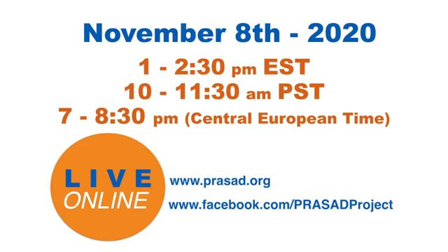 PRASAD International Event. Being Together 0 53 screenshot PRASAD   Live Stream